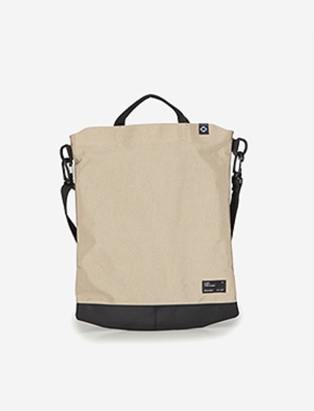 N050 CIVITAS S.TOTE BAG - BEIGE brownbreath