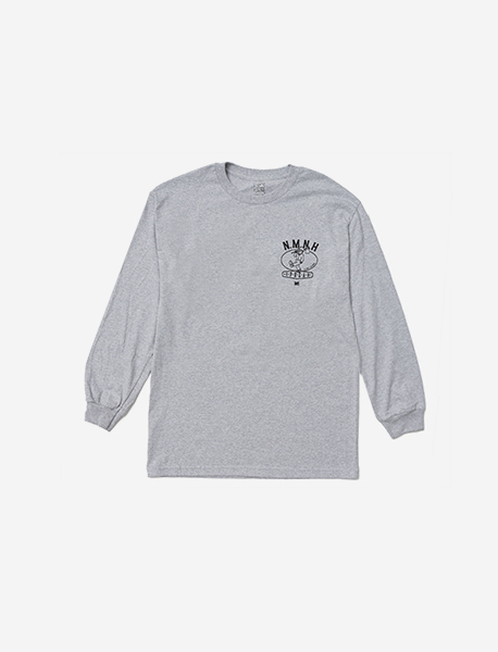 NMNH LONGSLEEVE - GREY brownbreath