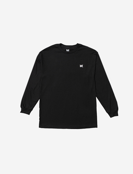 TAG LONGSLEEVE - BLACK brownbreath