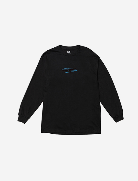PROBLEM LONGSLEEVE - BLACK brownbreath