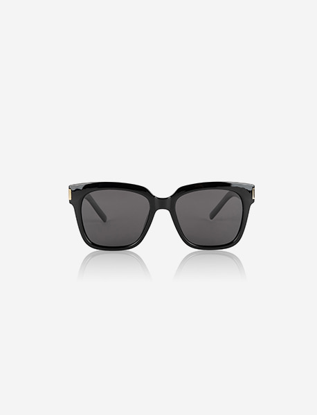 TAG SUNGLASS - BLACK brownbreath