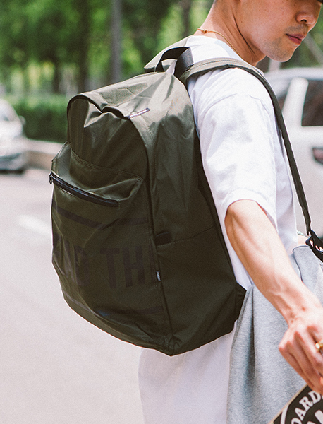 BIG SIGN M.BACKPACK - KHAKI brownbreath